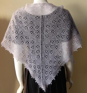 Free Knit Lace Shawl Pattern