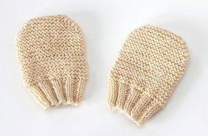 Free Newborn Scratch Mitten Knitting Pattern
