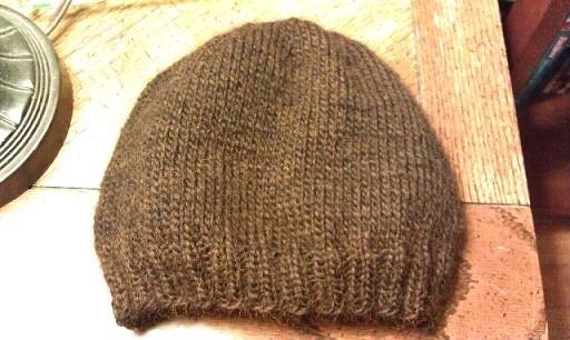 Generic Skull Cap Knitting Pattern