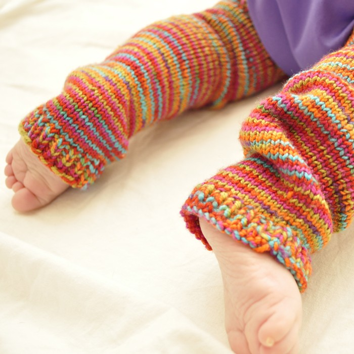 Knit Baby Leg Warmer Pattern