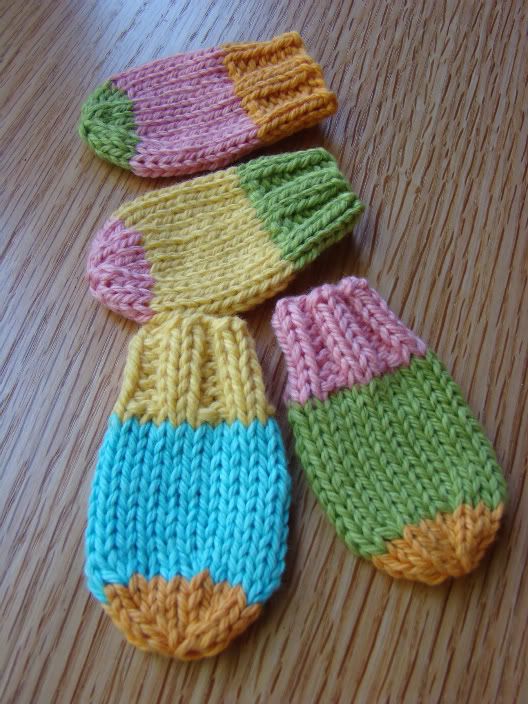 Knit Baby Mittens Pattern
