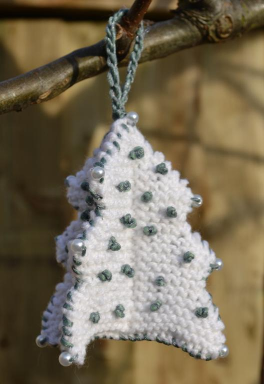 Knit Christmas Ornament Pattern