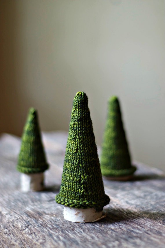 Knit Christmas Tree Pattern