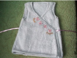 Knitted Baby Clothes Pattern
