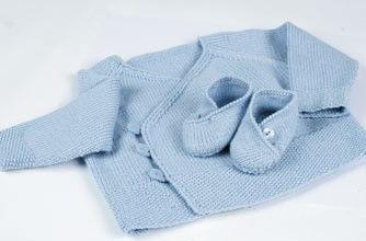 Knitted Clothes Pattern for Babies