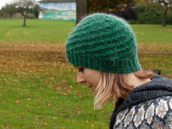 Knitting in the Round Hat Pattern