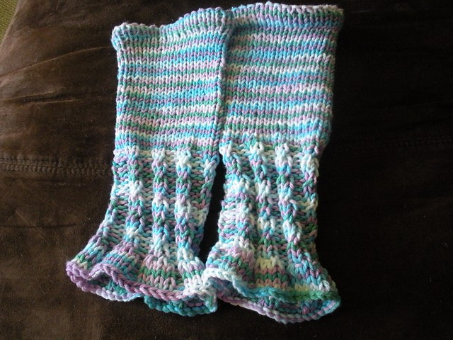 Leg Warmers Baby Knitted Pattern