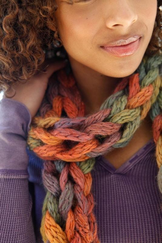 Loose-Knit Scarf Pattern
