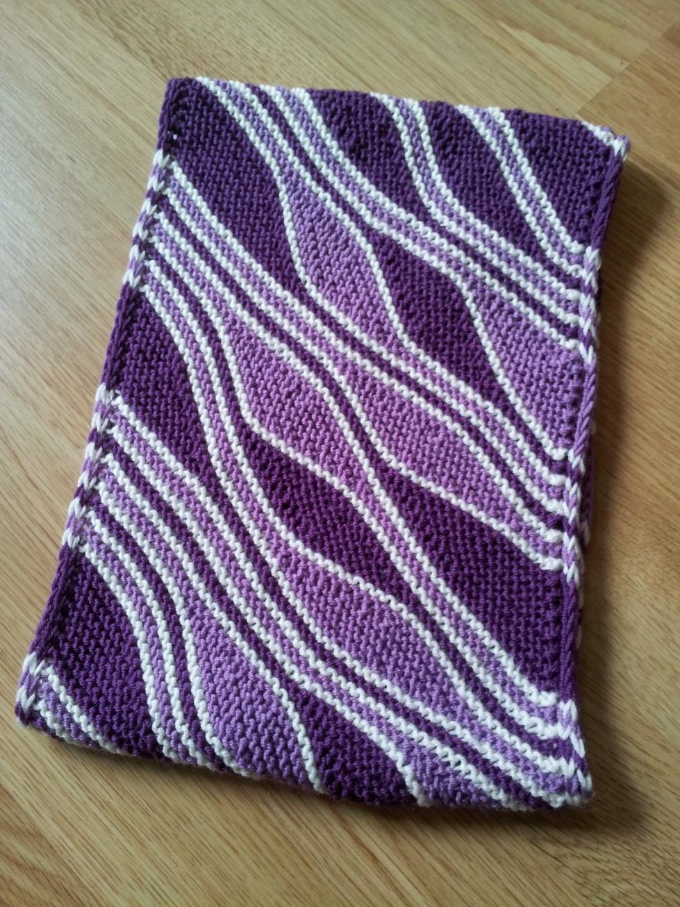 Mixed Waves Cowl Short Row Knitting Pattern