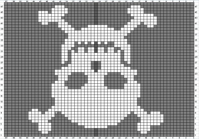 Skull Knitting Pattern