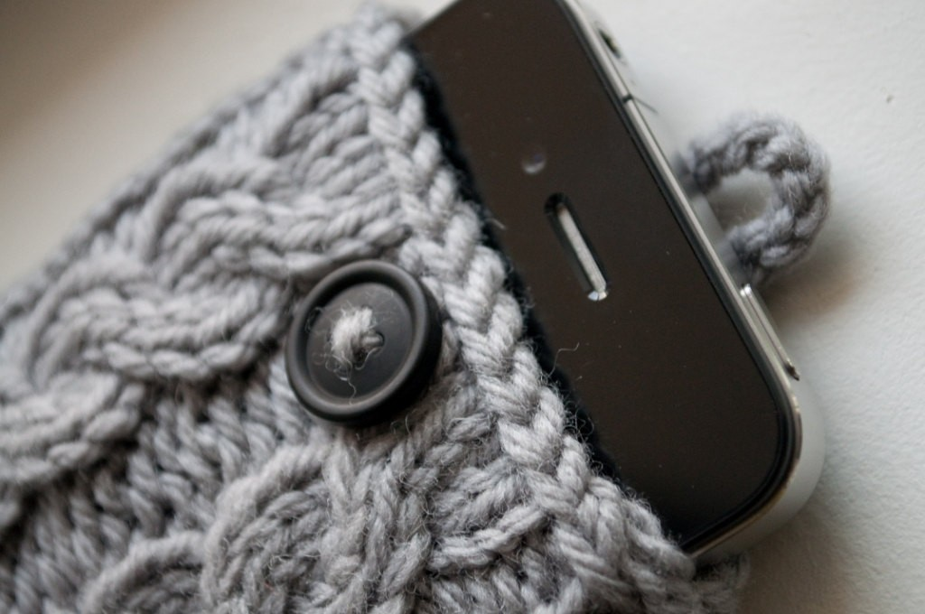 iPhone Case Knitting Pattern