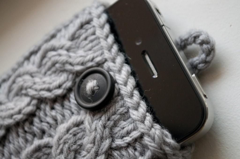iPhone Case Knitting Pattern