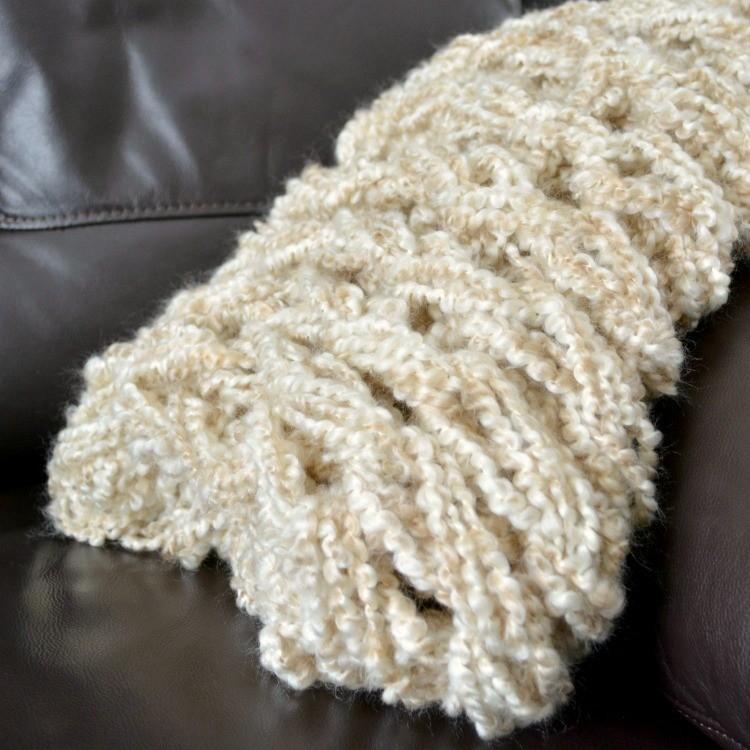 Arm Knit Blanket Pattern
