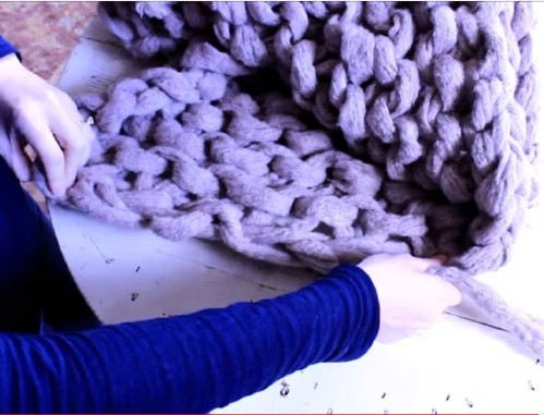 Arm Knitting Blanket Patterns