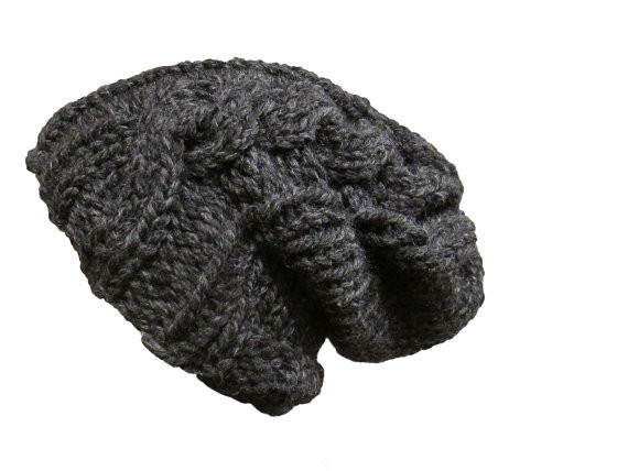 Black Knit Beanie Patterns Instructions