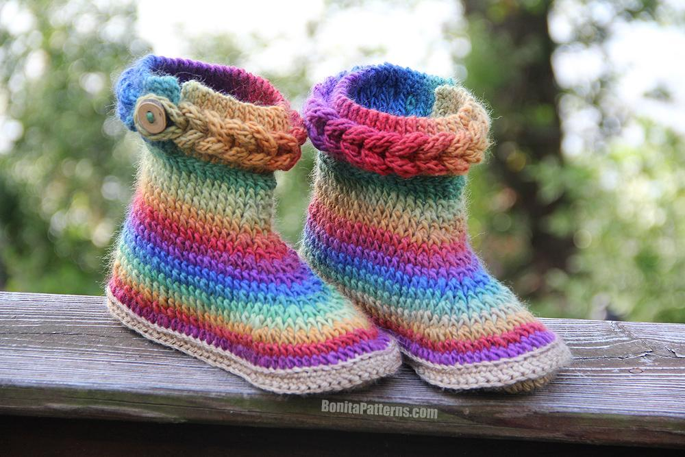 Boot Knitting Pattern Photos