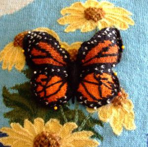 Butterfly Knitted Pattern Tutorial