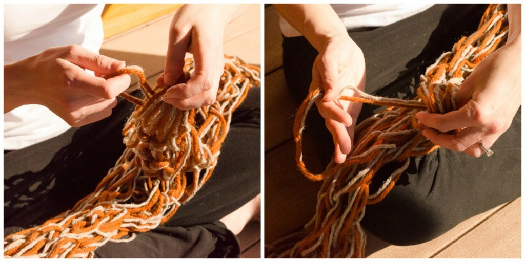 DIY Chunky Scarf Knitting Pattern