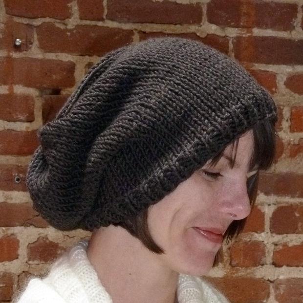 Free Black Knit Beanie Patterns