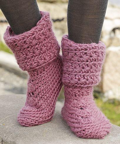 Free Knit Boot Patterns
