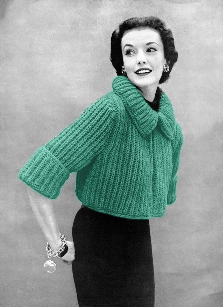Free Vintage Sweater Knit Pattern