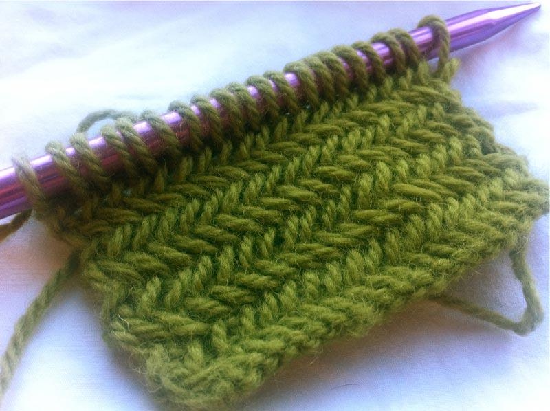 Herringbone Knit Pattern