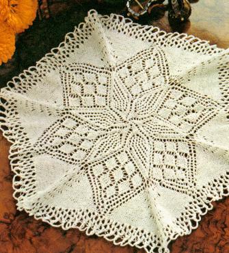 Lace Doily Knitting Pattern