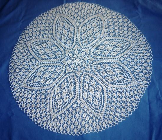 Petal Doily Knitting Pattern