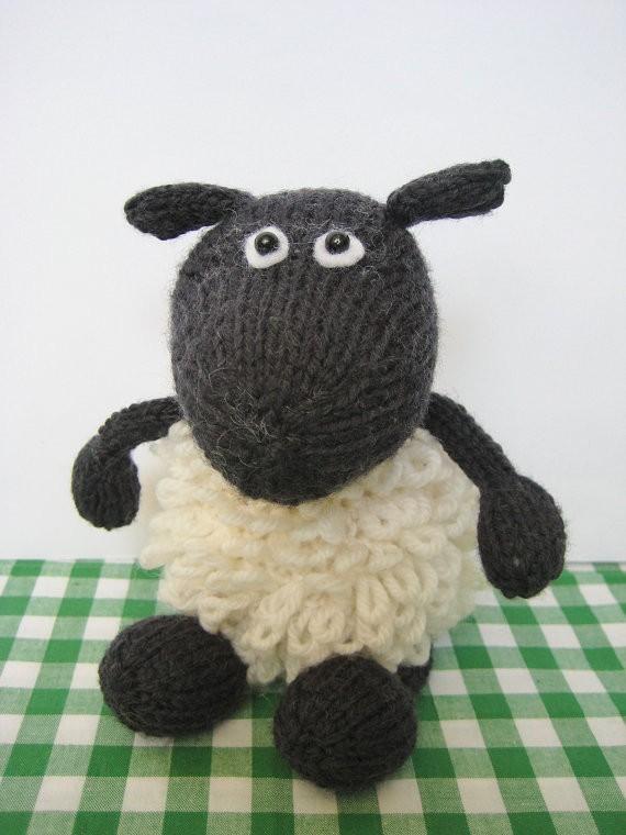 Sheep Toy Knitting Pattern