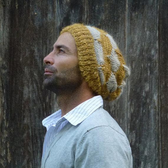 Yellow Beanie Knitting Pattern Tutorial