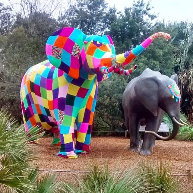 yarnbombingelephant
