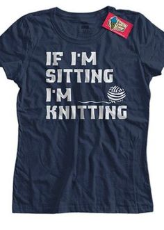 knitting tshirt